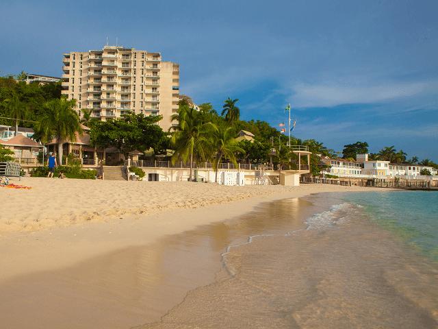 Pláž na Montego Bay